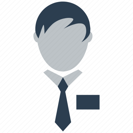 avatar, employee, male, man, people, person, user icon