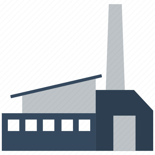 building, factory, industry, plant, work icon