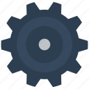 cog, gear, options, setting, settings icon