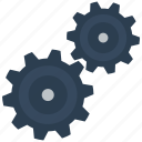 cogs, configuration, gear, gears, service, setting, settings icon