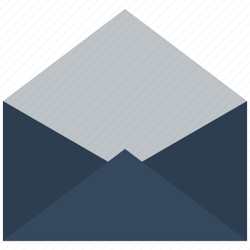 email, envelope, inbox, mail, open, read icon