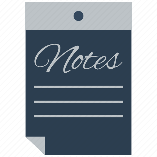 document, file, note, notes, paper, sheet, text icon