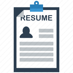 application, document, documents, file, page, paper, resume icon