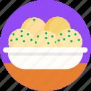 german, food, dumplings, restaurant, meal