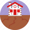 insurance, home, house, protection, shield, disaster, earthquake