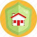 insurance, home, shield, house, protection