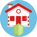 house, insurance, home, protection, shield