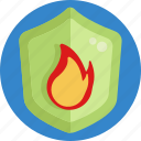 fire, insurance, shield, protection