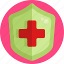 insurance, medical, health, shield, protection