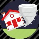 disaster, insurance, home, house, tornado