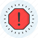 error, notification, warning, alert, attention