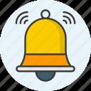 notification, bell, alert, alarm, ring, attention