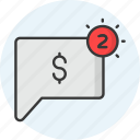 payment, notification, money, finance, cash, currency
