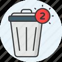 trash, delete, remove, cancel, garbage, recycle