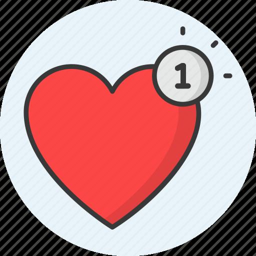 Heart, love, valentine, romance, wedding, favorite icon - Download on Iconfinder