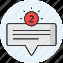 comment, chat, message, mail, communication, bubble