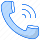 incoming, call, notification, incoming call notification, in, inbound icon