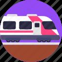 public, transport, train, transportation