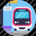 public, transport, train