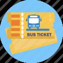 public, transport, bus, ticket, bus ticket
