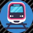 public, transport, train, rail
