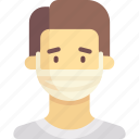 healthcare, mask, medical icon