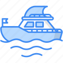yatch, boat, sailboat, sailing boat, sailing ship, yacht icon