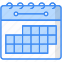 calendar, schedule, time, holidays icon