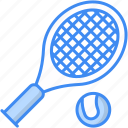 tennis, racket, sport, tennis ball icon