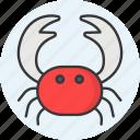 carb, lobster, sea animal, seafood, velvet crab icon