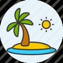 island, beach, summer, vacation, holiday, travel