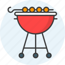 barbecue, barbeque, bbq, grill, summer icon