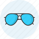 glasses, eyeglasses, look, shades, spectacles, sunglasses, view icon
