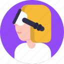 virtual, reality, device, innovation, technology, vr, glasses icon