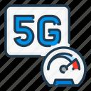 5g, dashboard, fast, internet, network, speed