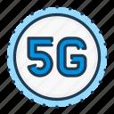 5g, circle, network