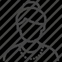 avatar, grandma, old, person, senior, woman icon