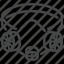 face, industrial, mask, protective, respirator, virus icon