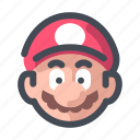 console, game, gameconsole, gaming, mario icon