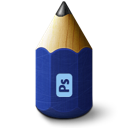 pen, pencil, photoshop icon