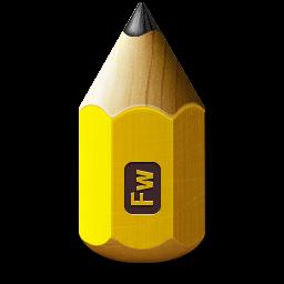 1281white0, 48, adobe, fireworks, nazi, pencil icon