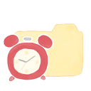 ak, clock, folder, vanilla icon
