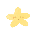 ak, sad, starry icon