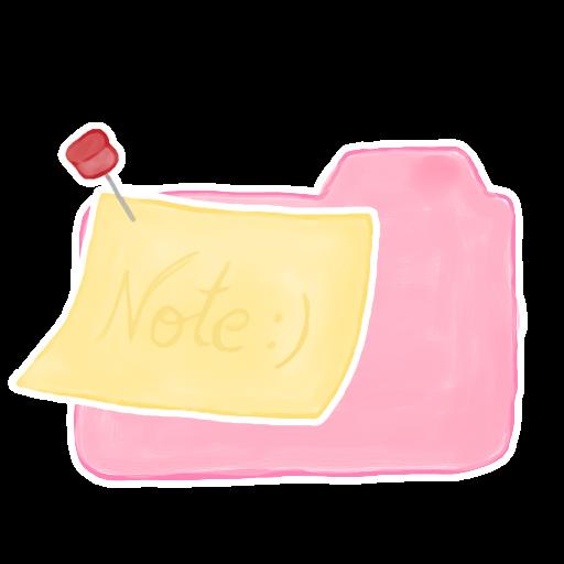 ak, candy, folder, note icon