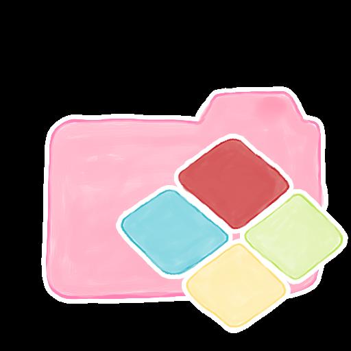 ak, candy, folder, windows icon