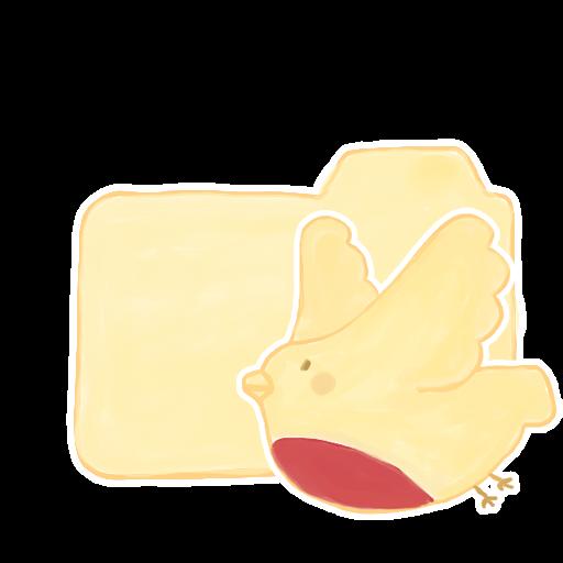 ak, birdie, folder, vanilla icon