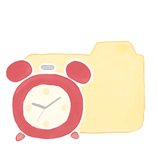 ak, clock, folder, vanilla icon