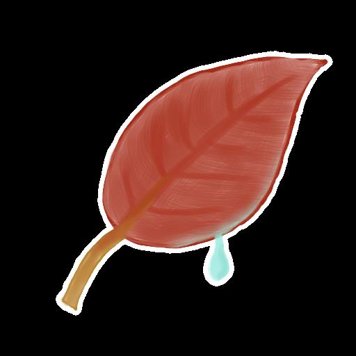 ak, leaf icon