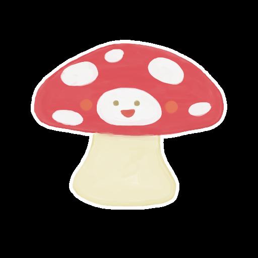 ak, mushroom icon