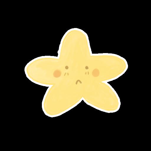 ak, starry icon